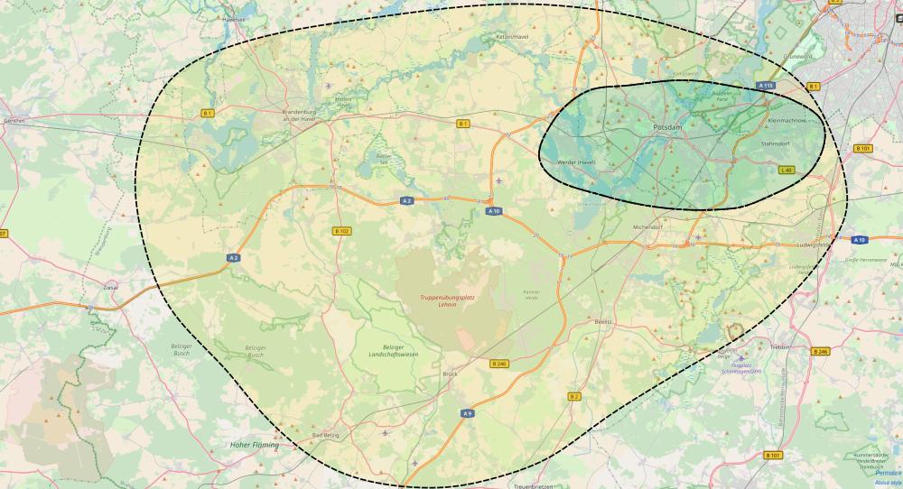 Potsdam Ebike Verleih Standort