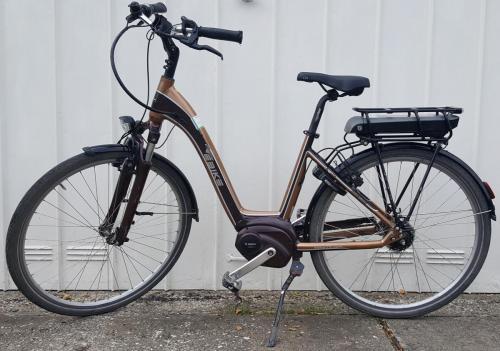 Ebike bronze-braun freilauf